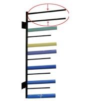 Extension tube foil rols rack length 800 mm 33 7 / 3 25
