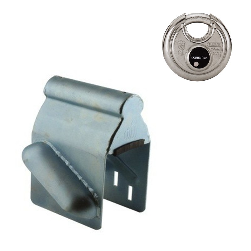 Sleeve lock inclusive discus lock
