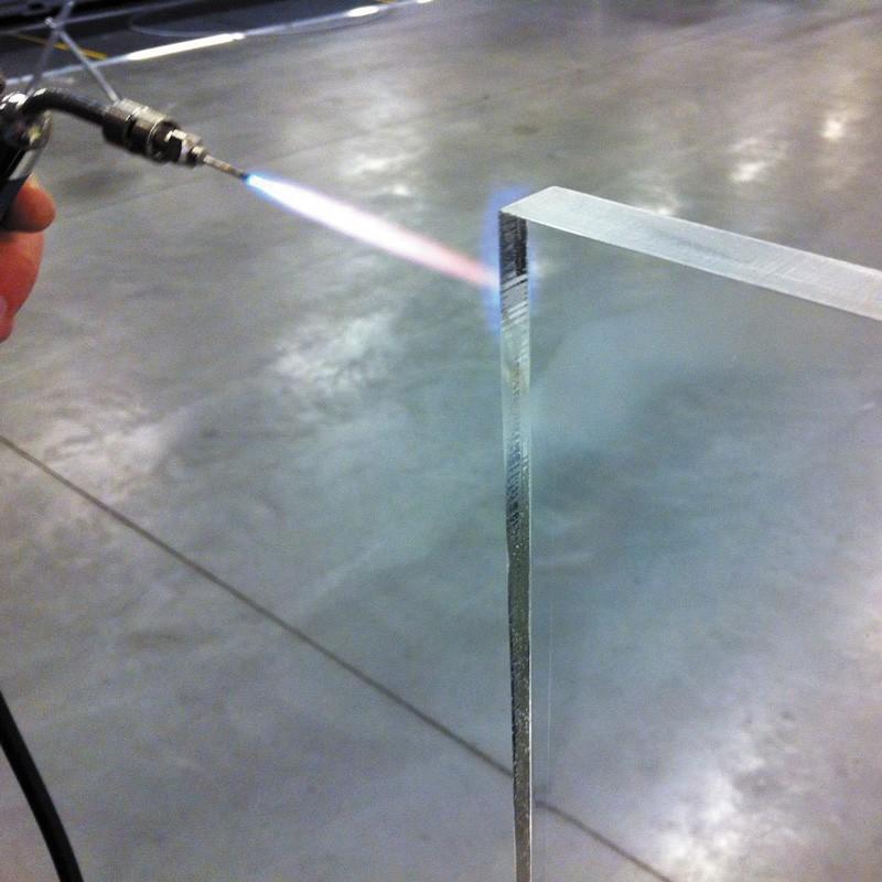 Flame polishing kit