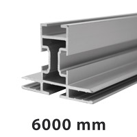 King profile double sided maxi 45 x 45 mm 6 meter