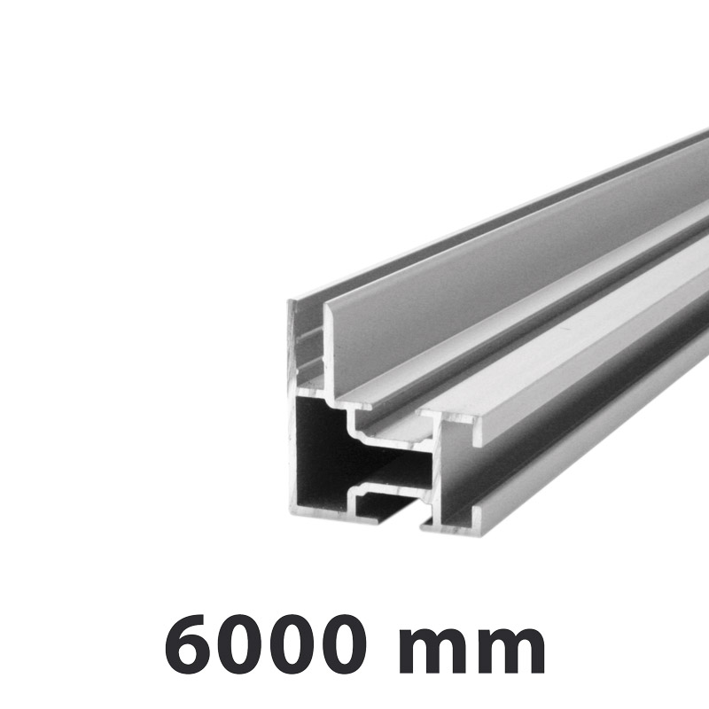 Dame profile single sided maxi 34 x 32 mm 6 meter