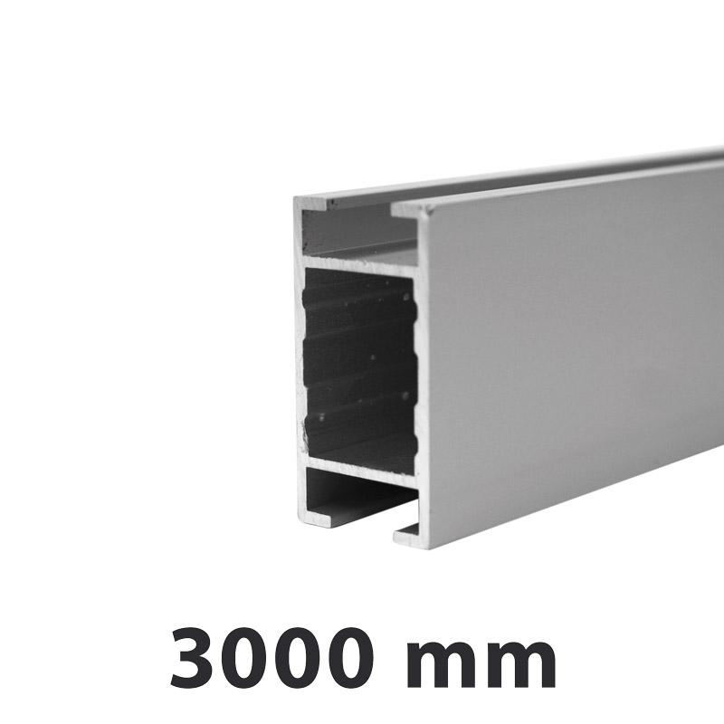 H-profiel voor maxi frames 36 x 19 mm 3 meter