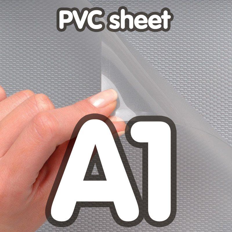 PVC sheet, A1, for standard snap frame