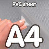 Pvc cover 0 5 mm anti-reflection A4