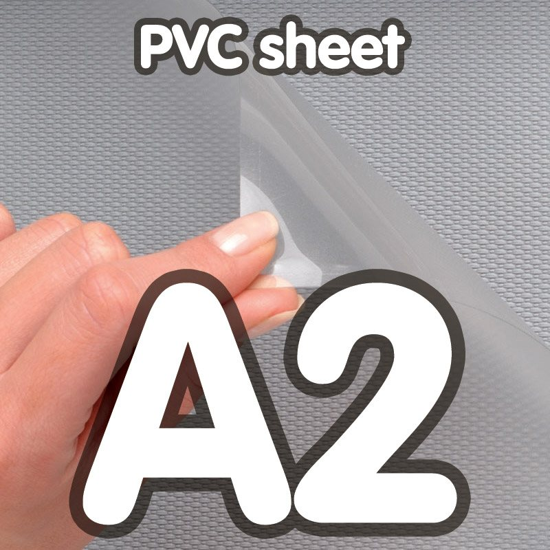 Pvc cover 0 5 mm anti-reflection A2