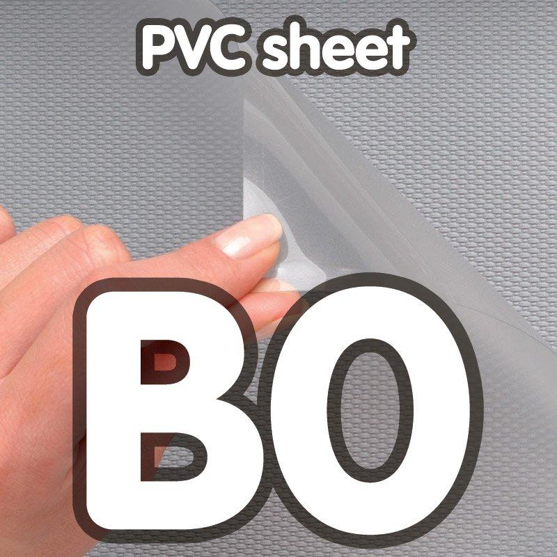 Pvc cover 0 5 mm anti-reflection B0