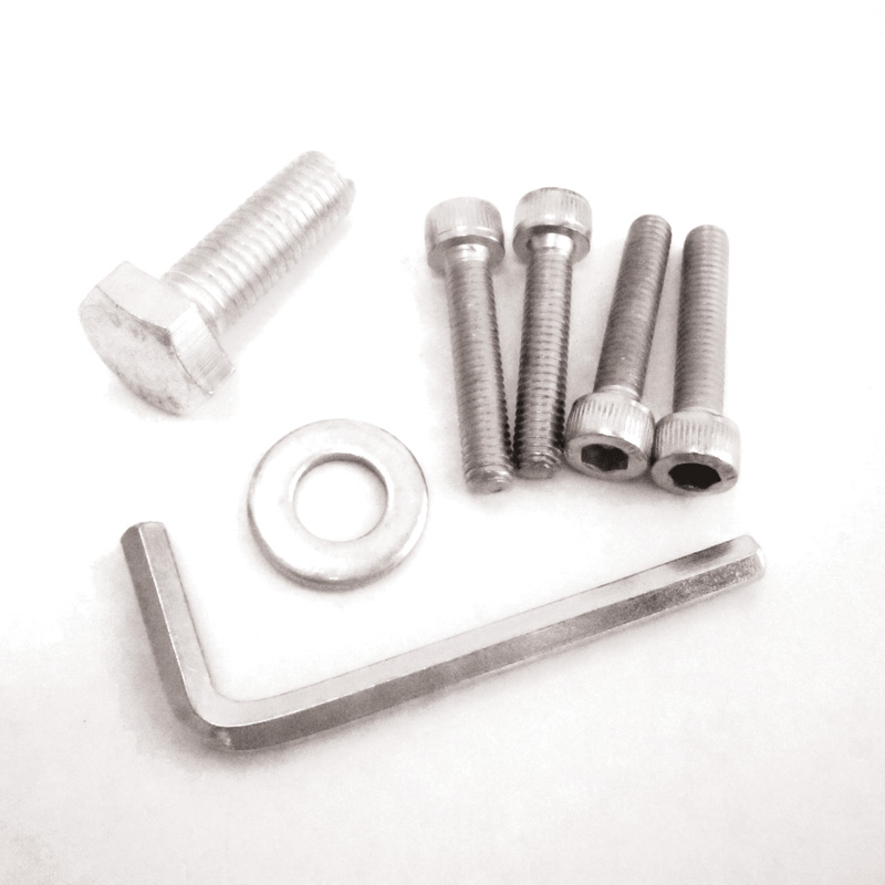Fasteners for free standing