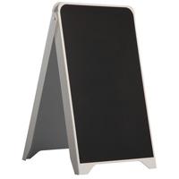 Kunststof stoepbord krijt 500 x 880 mm