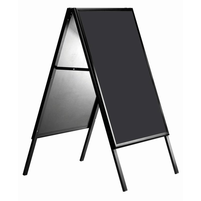 Click-a standard black 600 x 800 mm