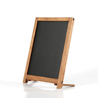 Counter wood chalk frame 279 x 431 mm