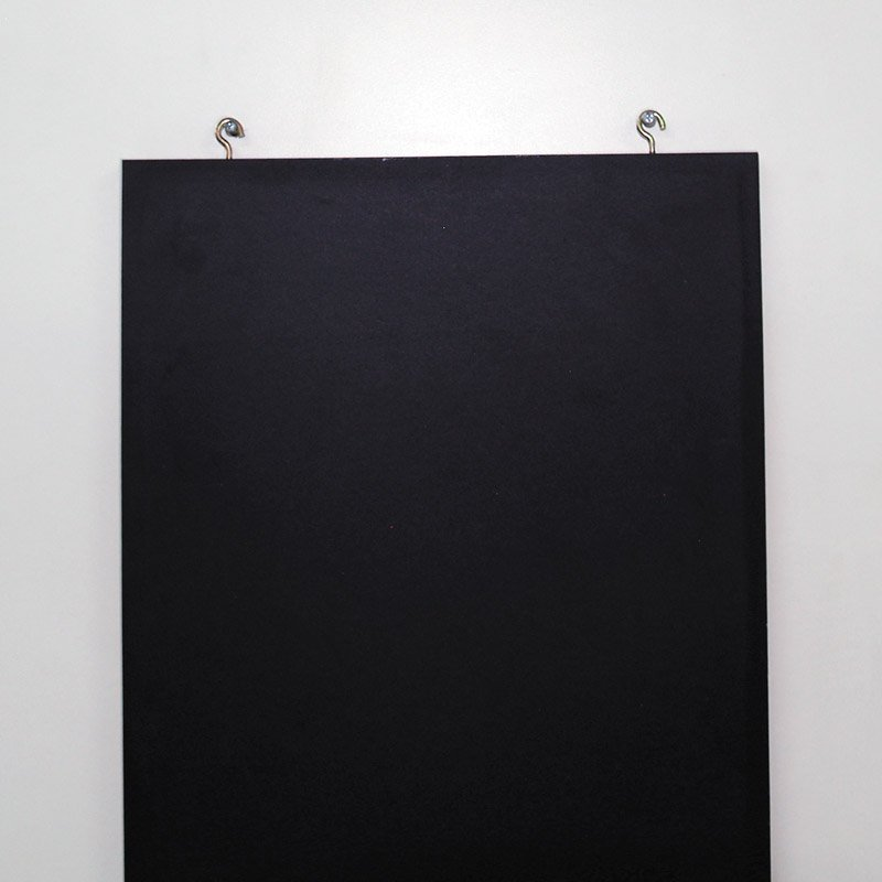Frameless chalkboard 800 x 1200 mm black