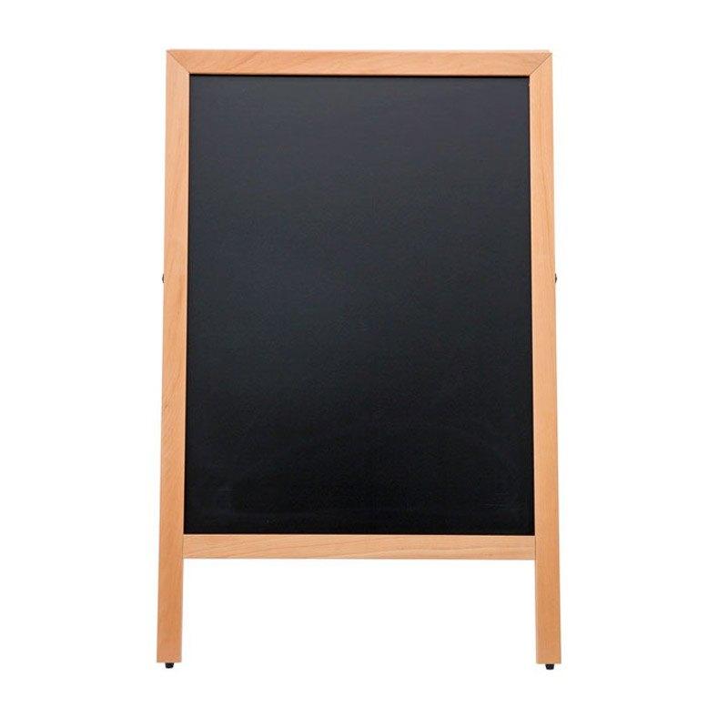 Wooden Click A-sign indoor chalk