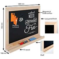 Writing Chalkboard 390x590 mm