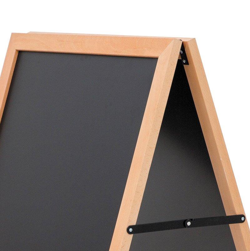 Wooden A-board