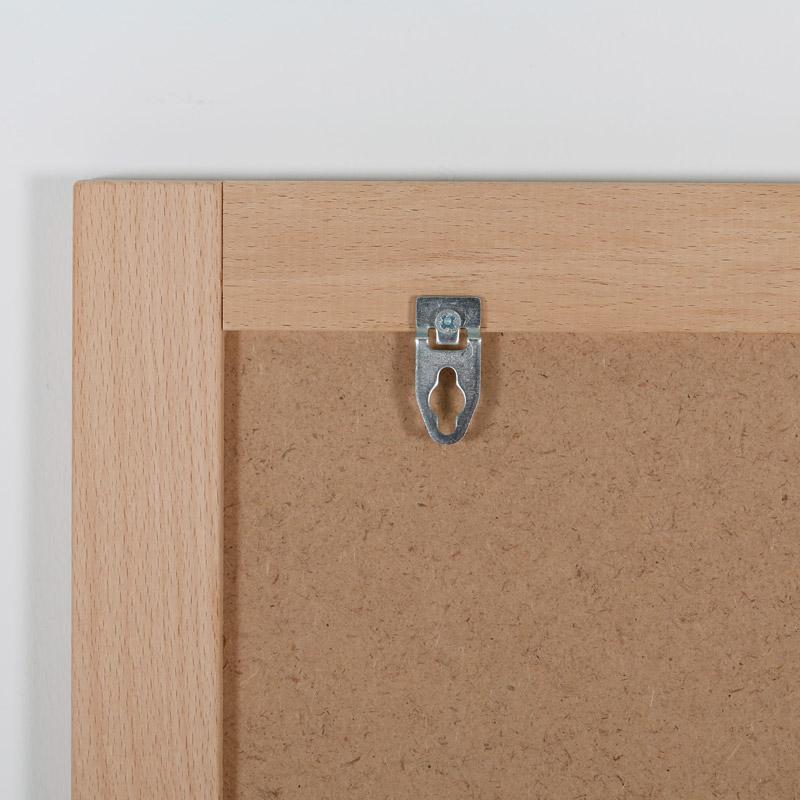 Krijtbord met houten lijst, 400 x 600 mm
