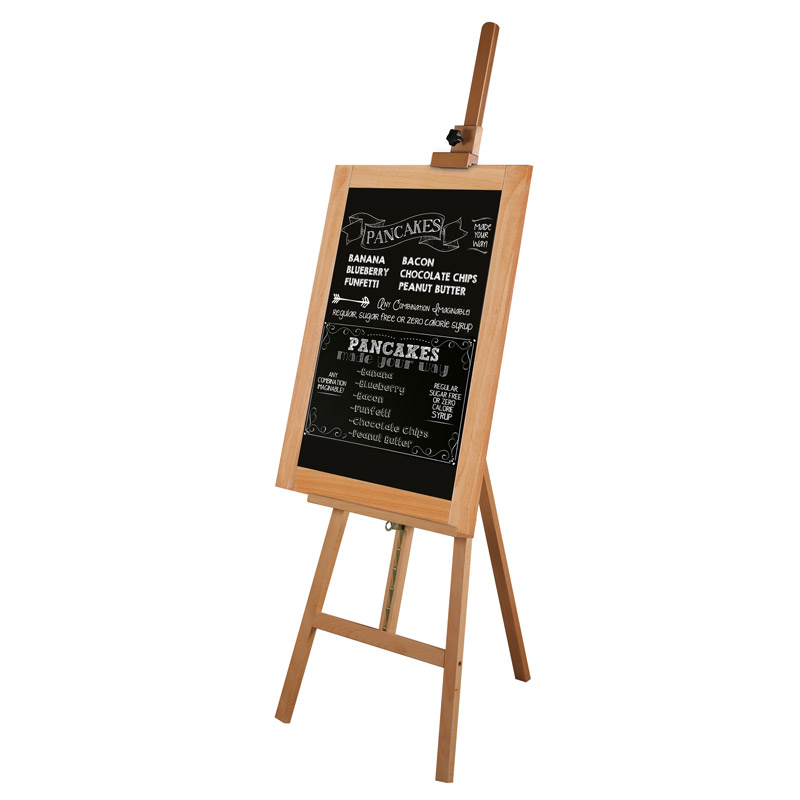 Black chalkboard 400 x 900 mm
