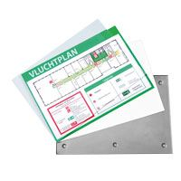 Clickfix cassette system 150 x 210 outdoor acrylic size 152 x 212 x 4.5 mm