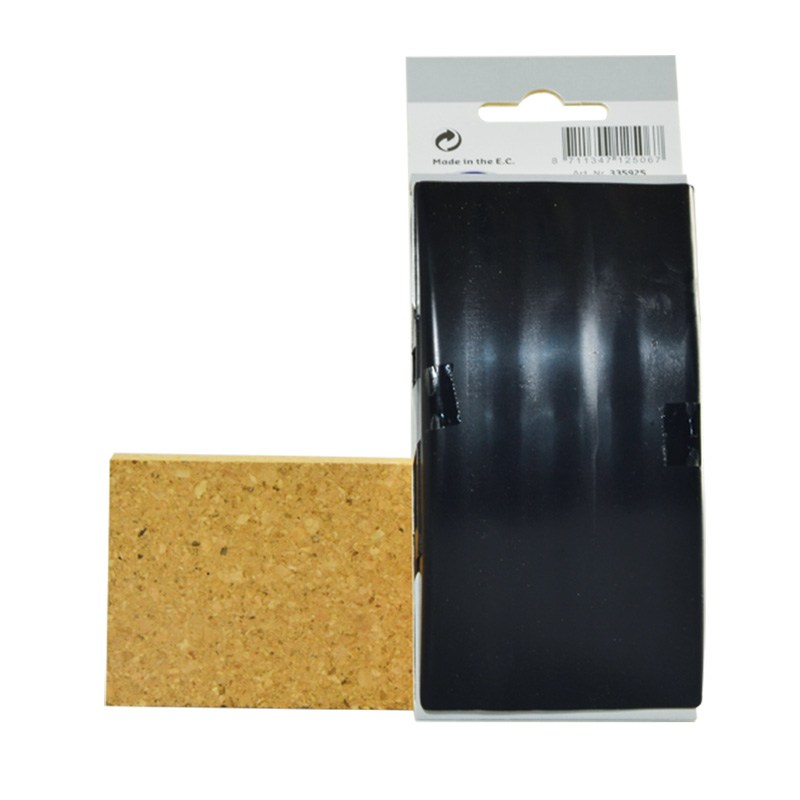 Rubber sanding block 67 x 127 mm