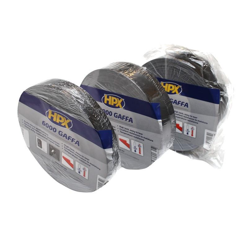 Gaffer tape 6000 AV 100 mm black