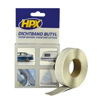 Butyl sealing tape 20 x 3000 mm grey