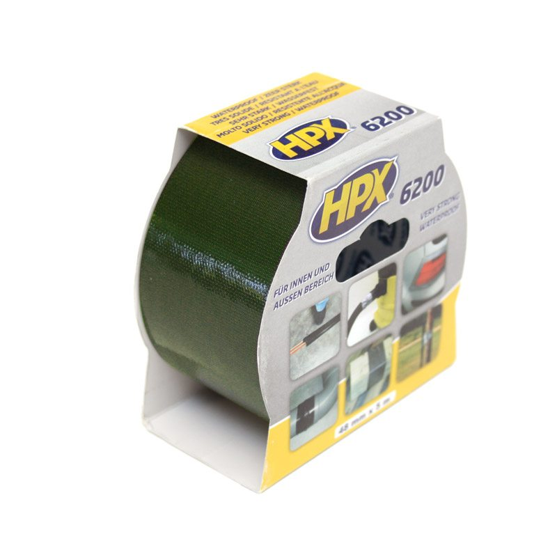 HPX 6200 repair tape 48 mm x 5 m olive green