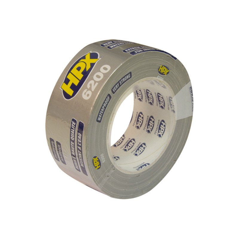Hpx 6200 tape 48 mm x 25 meter zilver