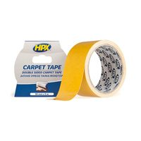 Carpet tape sided high tack 50 x 5000 mm white