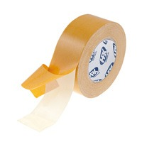 Carpet tape double-sided 50 x 25 m white