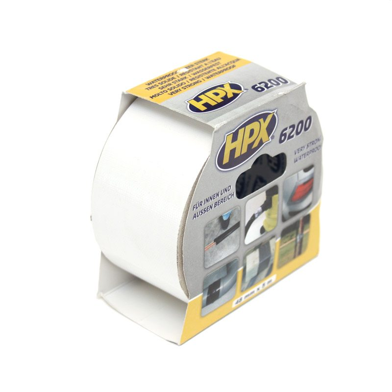 HPX 6200 repair tape 48 mm x 5 m white