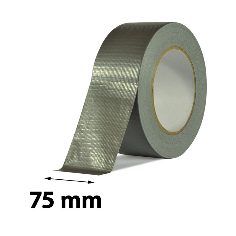 Duct tape 1900 75 mm x 50 m silver