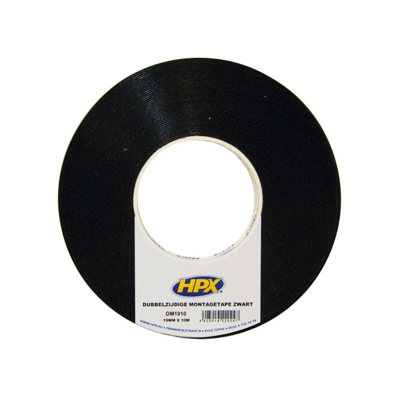 Ruban adhésif DZ 19 mm x 10 m noir