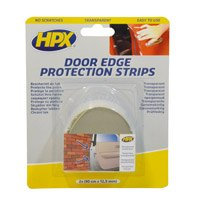 Door edge protection strips - transparant 2 x 90cm x 12 5mm