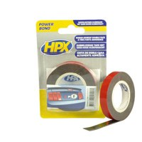 Acrylic tape double-sided high tack 12 mm anthracite
