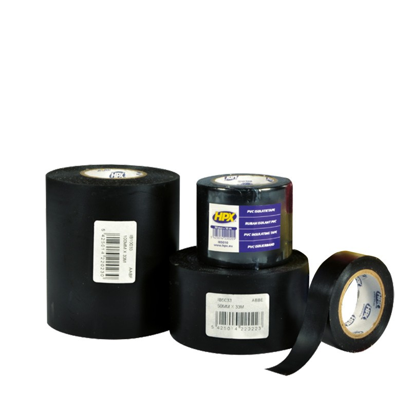 Pvc insulation tape 19 mm x 33 m black