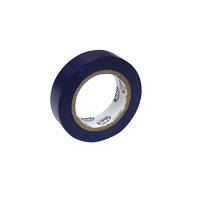 Pvc insulation tape 15 mm x 10 m blue