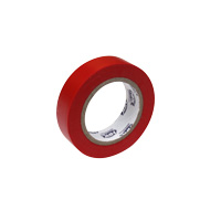 Pvc insulation tape 15 mm x 10 m red