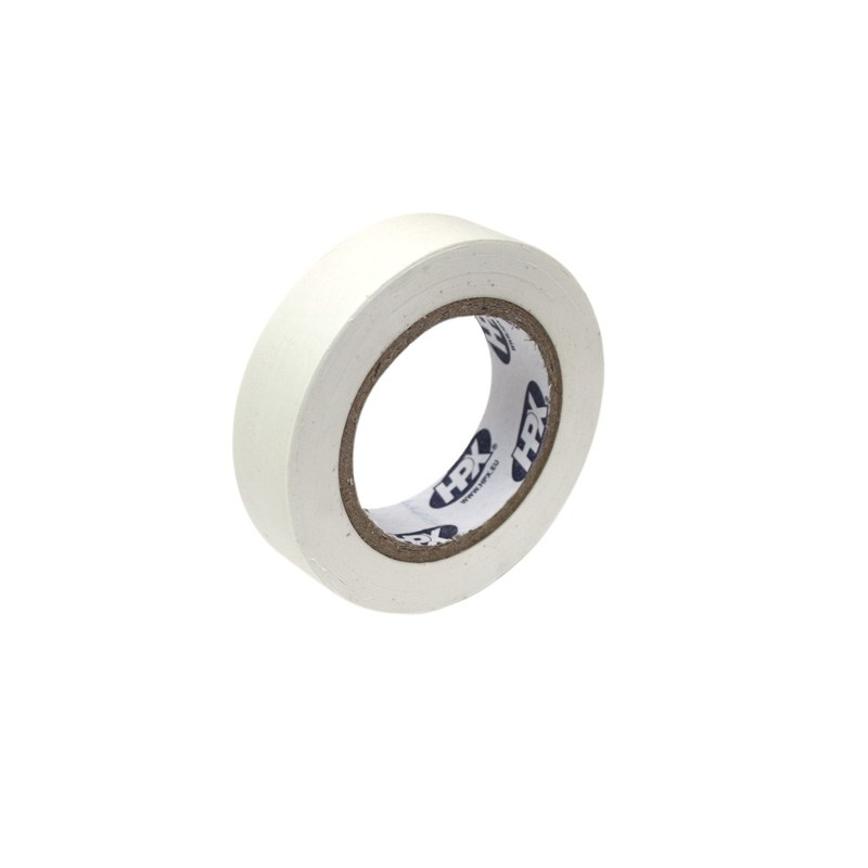 Pvc insulation tape 15 mm x 10 m white