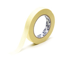 Masking tape automotive quality 25 mm x 50 m cream