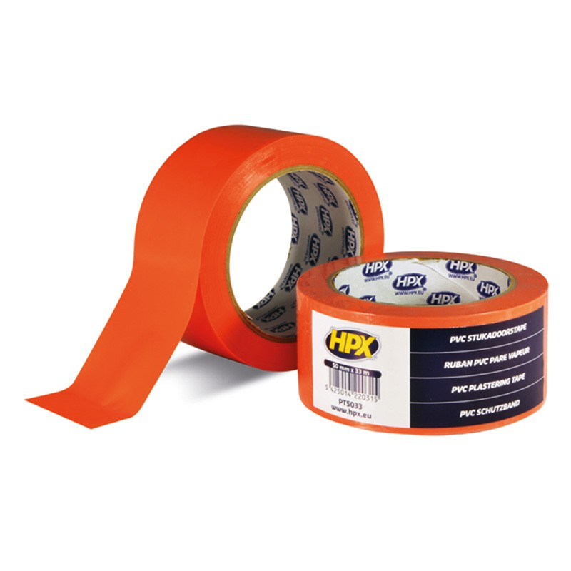PVC sealing tape 50 mm x 33 m orange