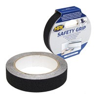 Nonslip tape 25 mm wide 5000 mm long black