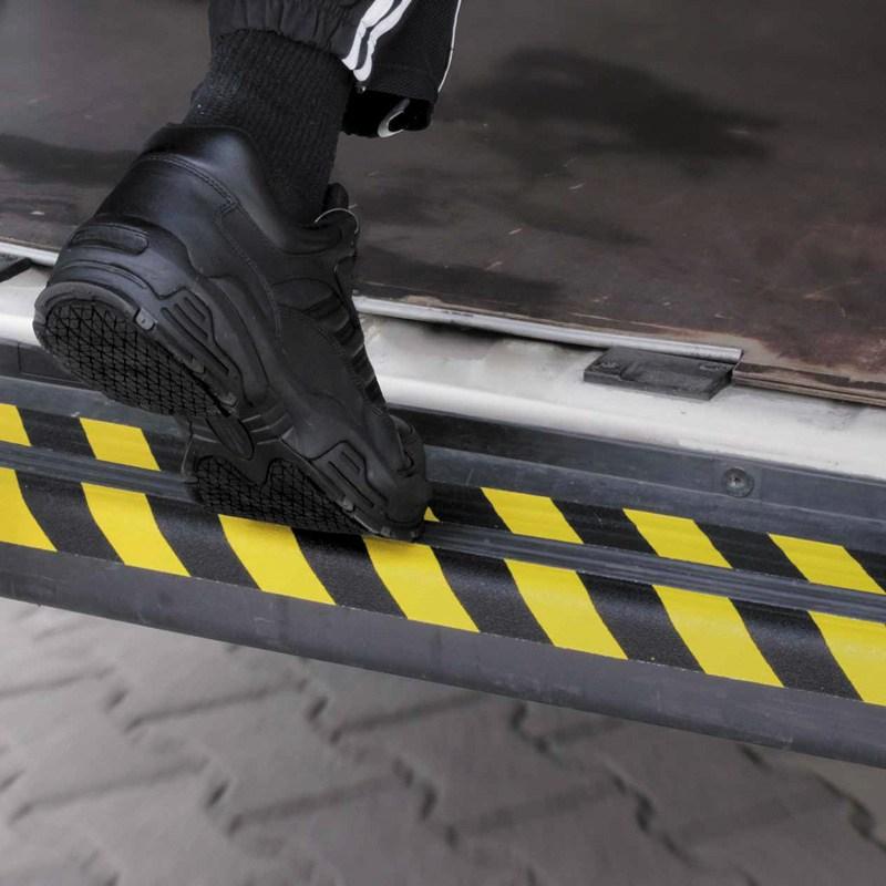 Nonslip tape 25 mm x 18 m black-yellow