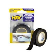 Textile tape 19 mm 10 000 mm wide. long black