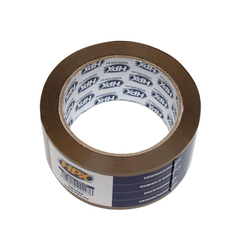 Packaging tape brown 48 x 6600 mm per unit.