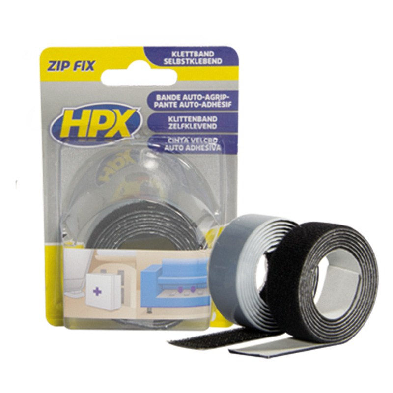 Zip-fix velcro tape 20 mm