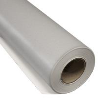 IKONOS Frosted decofilm Zilver Hechting: permanent Kleur: Zilver Lijm: Transparant Breedte 160 cm Rol lengte: 25 meter