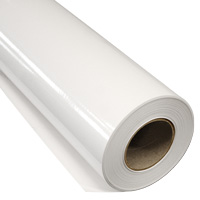 IKONOS Printfolie cast glans Air Free Hechting: permanent Kleur: wit  Lijm: grijs Breedte: 152 cm  Rol lengte: 50 meter  Dikte: 50 m�