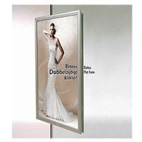 Cadre clic-clac pour vitrine 25 mm
