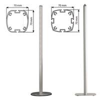 Freestanding paal 2-4 kanaals