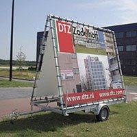 Mobiele billboards WAD 1